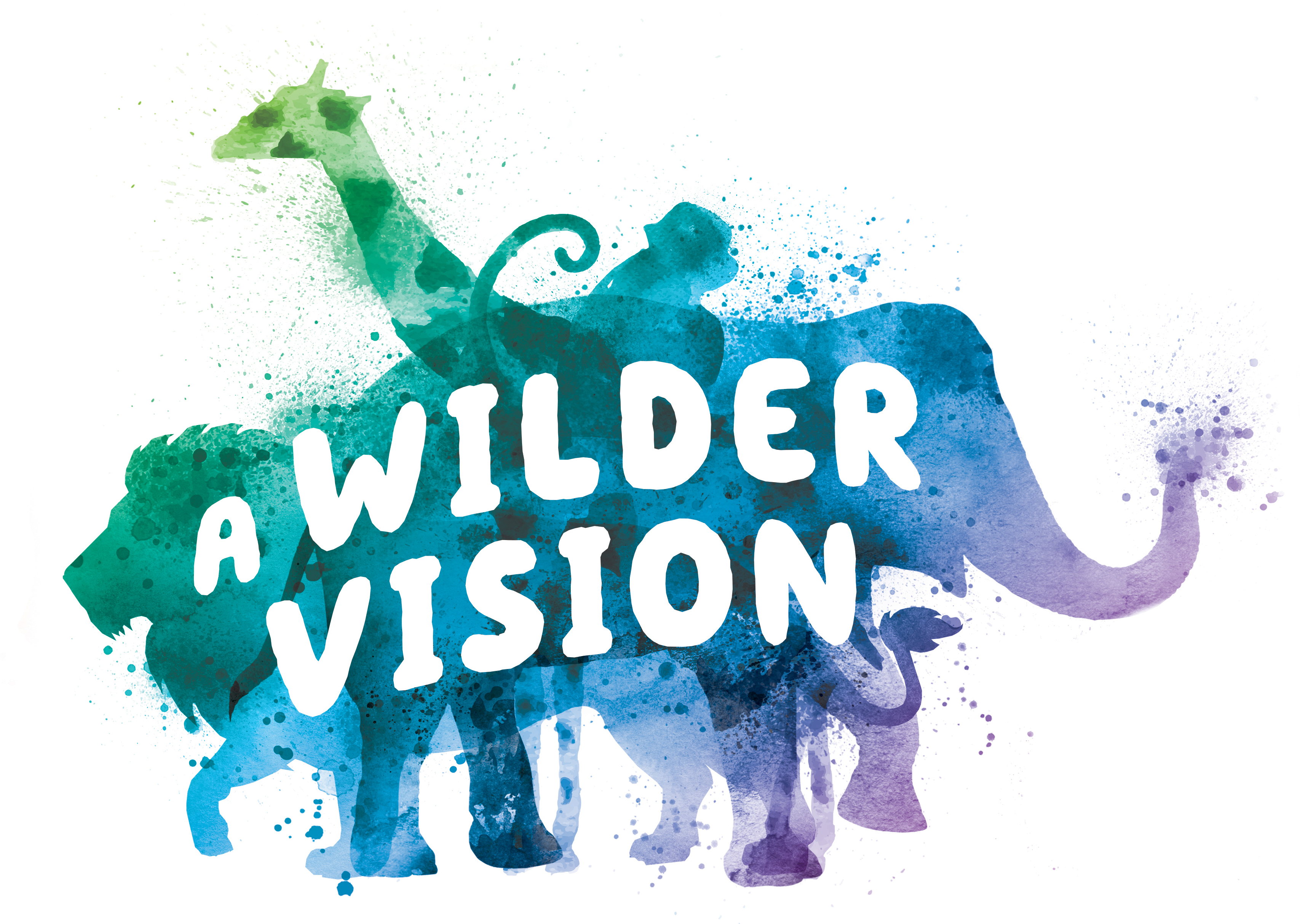 Logo for A Wilder Vision campaign at the Fort Worth Zoo