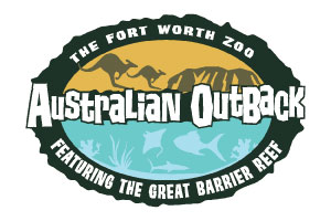 Australian Outback at Fort Worth Zoo logo