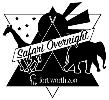 Logo for Safari Overnight Adventures at the Fort Worth Zoo
