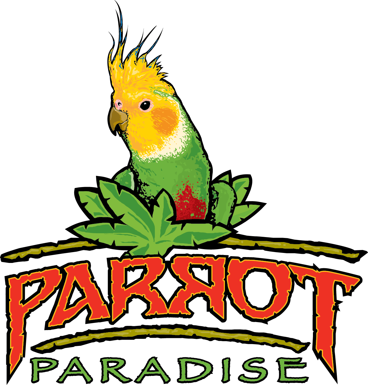 Parrot Paradise at Fort Worth Zoo logo