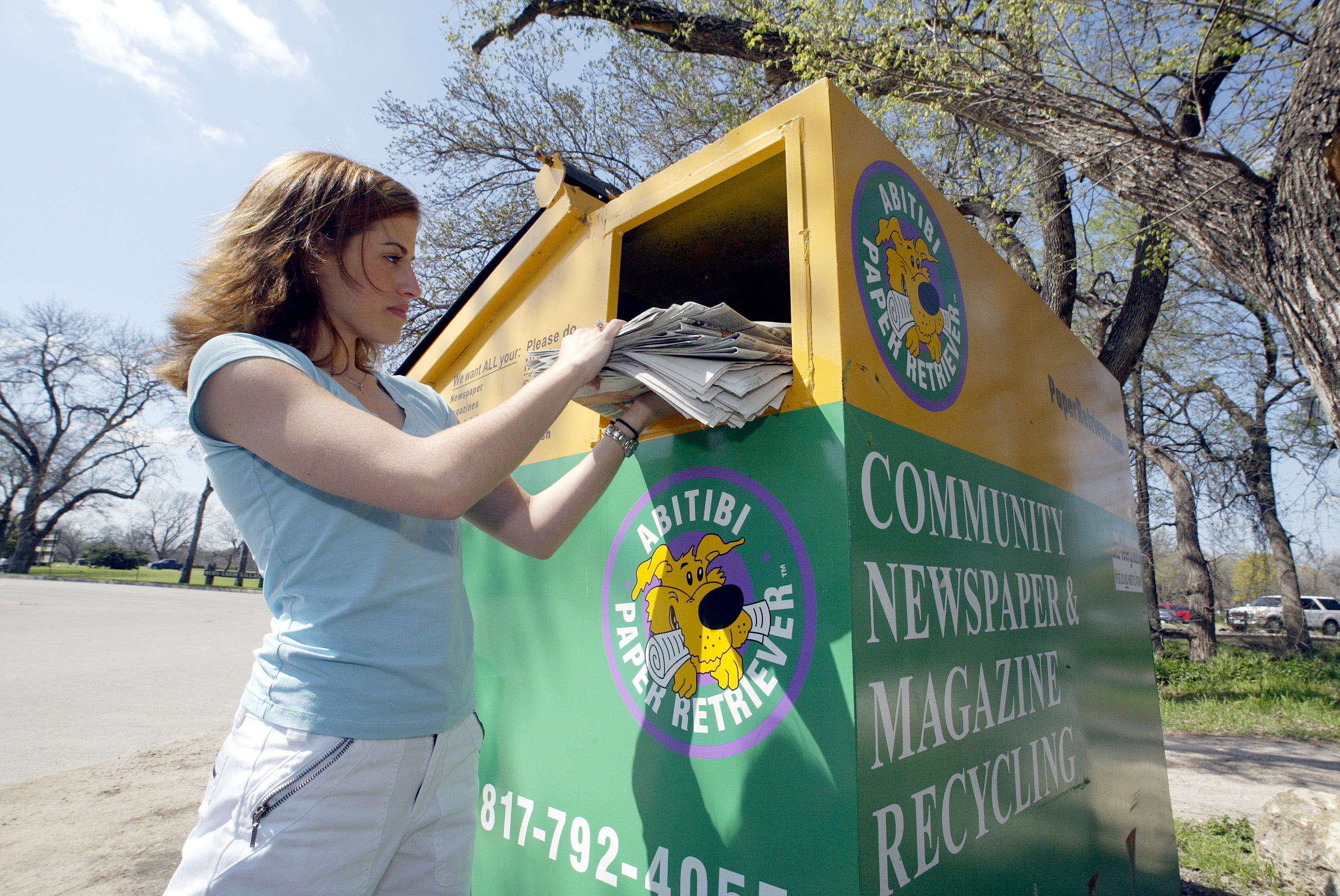 Fort Worth Zoo recycling program
