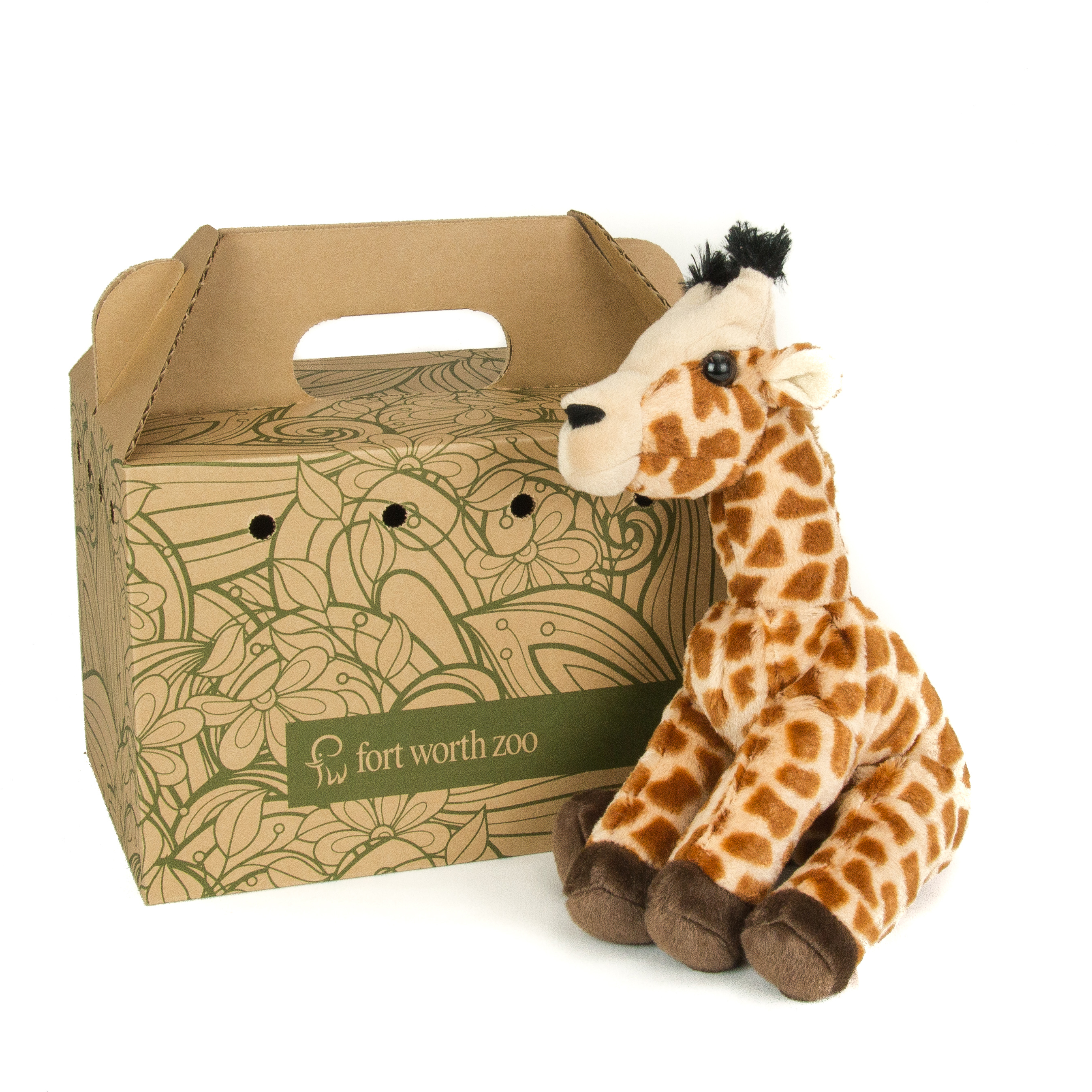giraffe plush photo