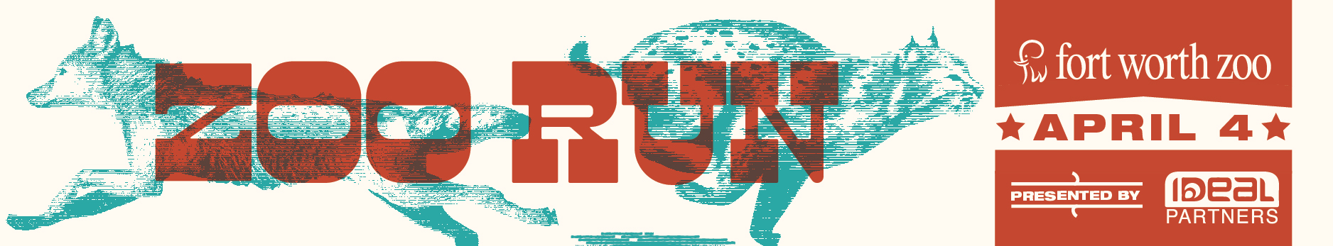 Zoo Run, Fort Worth Zoo, April 4 presented by Ideal Partners