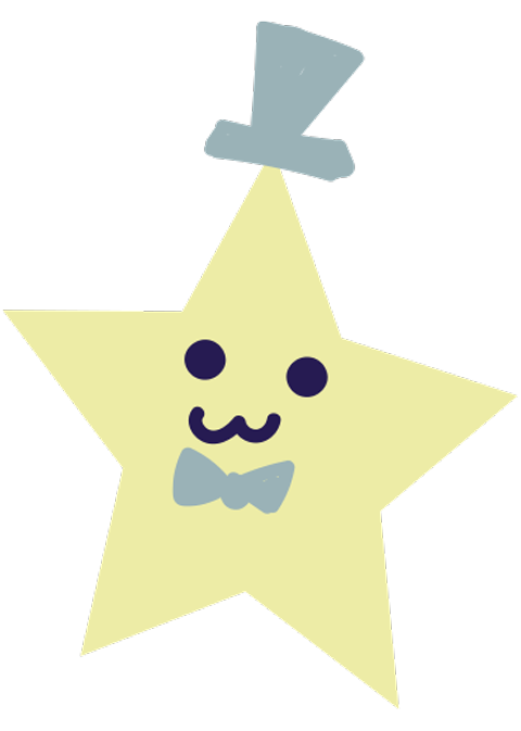 Space Out Family Night star with top hat