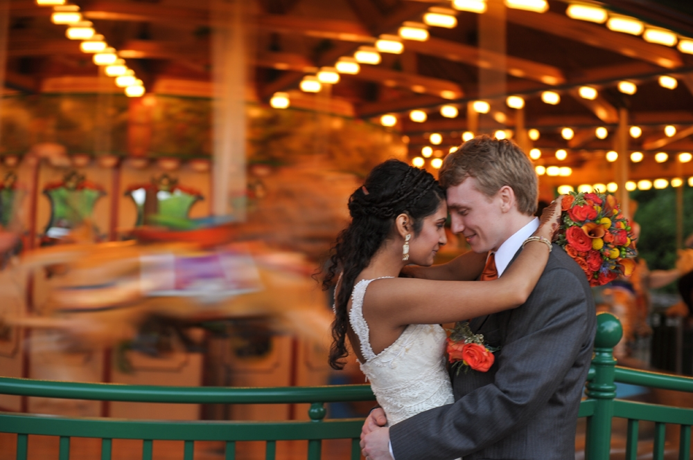 Nashville Zoo Wedding Wild Animal Carousel