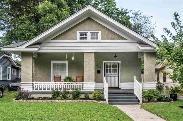 house with large front porch