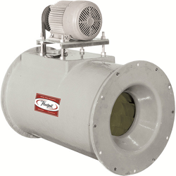 Series 40 Fiberglass In-Line Centrifugal Fan