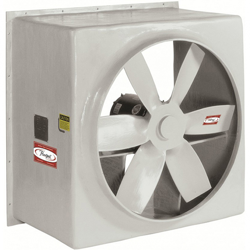 Series 59 Fiberglass Direct Drive Wall Ventilator