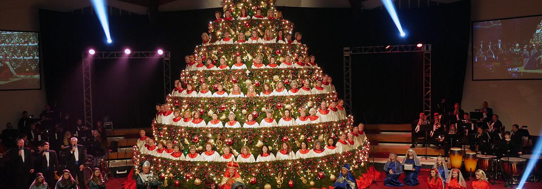 Singing Christmas Tree   Abilene Baptist Church   Augusta, GA