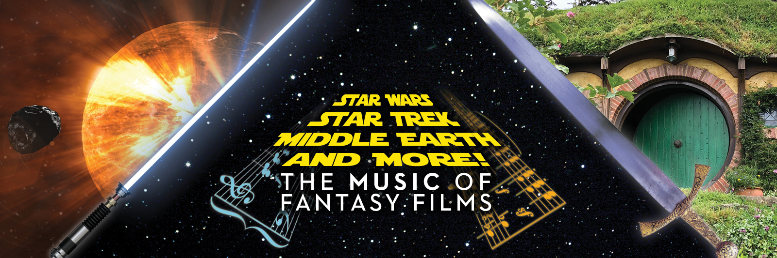 Star Wars, Star Trek, Middle Earth and More