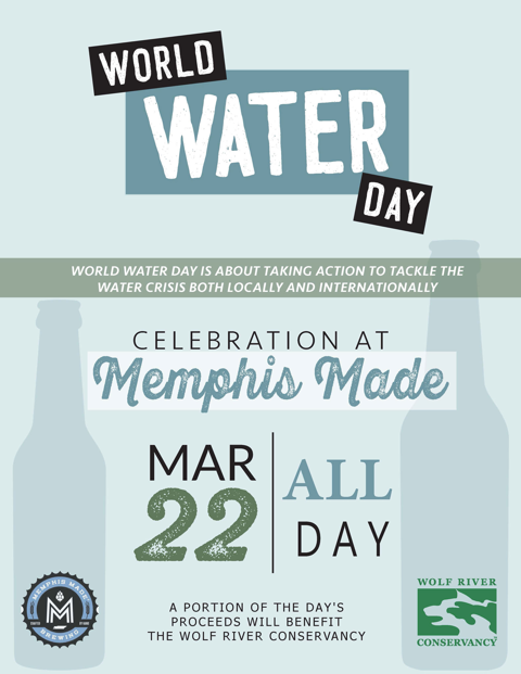 2019 World Water Day Flyer