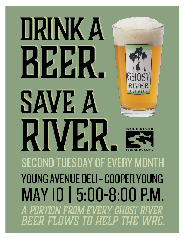 Drink A Beer, Save A River - Young Avenue Deli