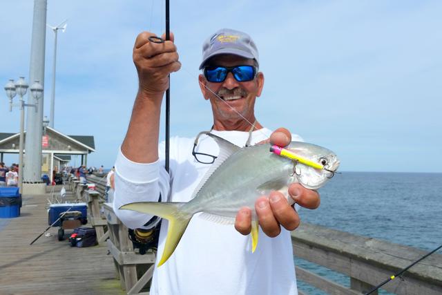 Jennette s pier nc aquarium nags head nc 27959 for Fishing forecast nc