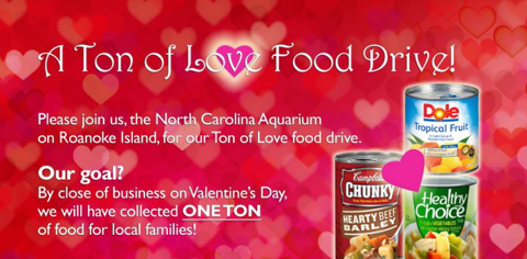 Be A Part Of The Ton Of Love Food Drive