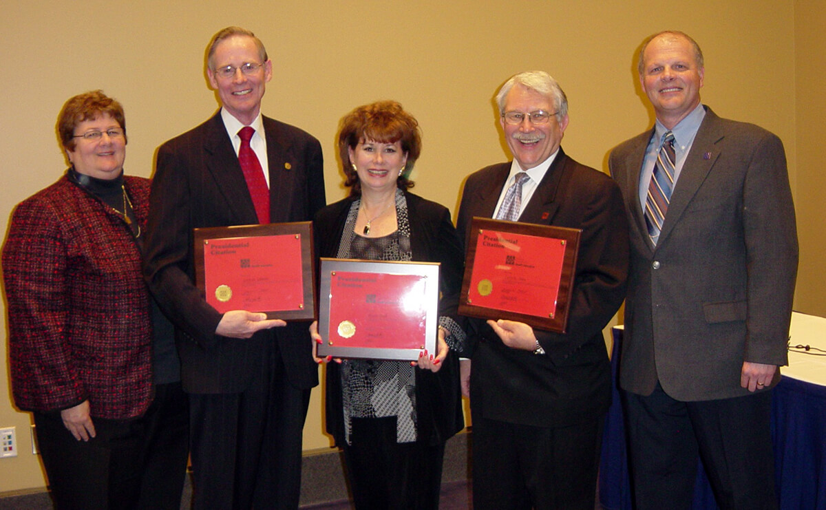 Charter CHES - Becky Smith, Gary Glimore, Alyson Taub, Larry Olsen, Randy Cottrell