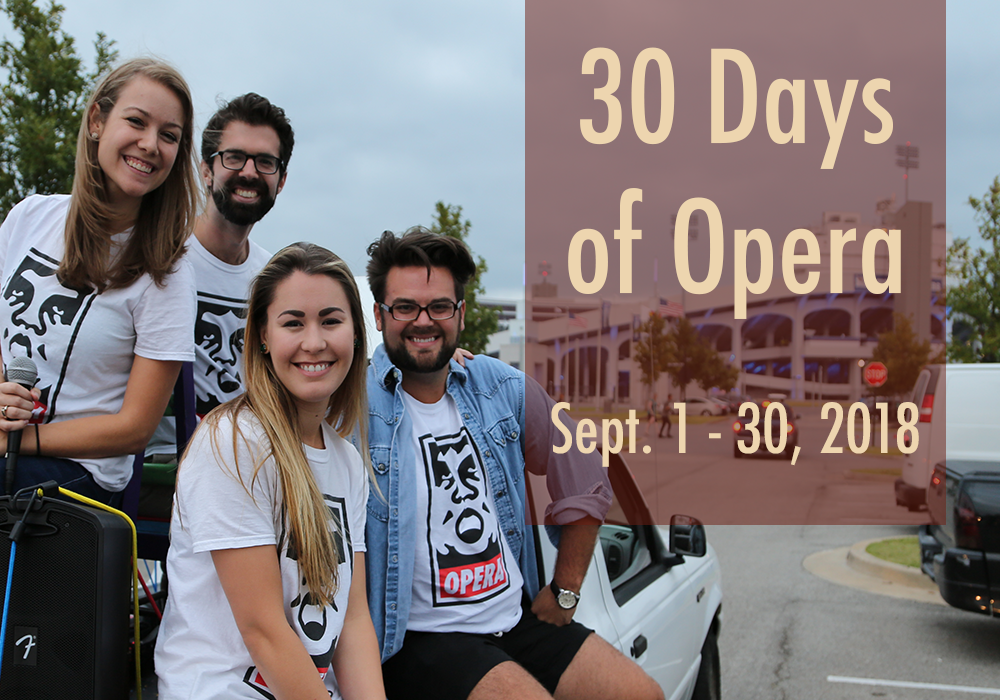 30 Days of Opera: September 2018