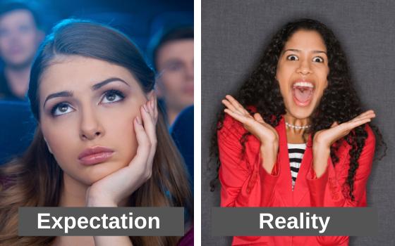 boring versus exciting