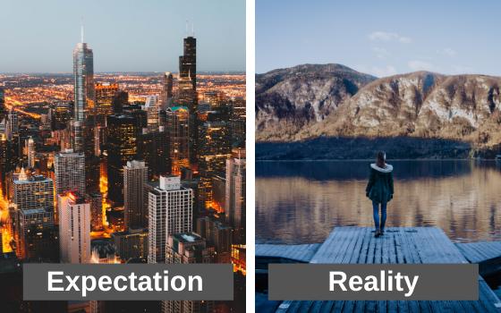 city versus wilderness