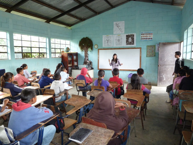 Guatemala conservation education