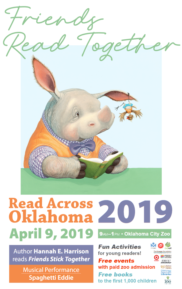 Read Across Oklahoma 2019 Graphic