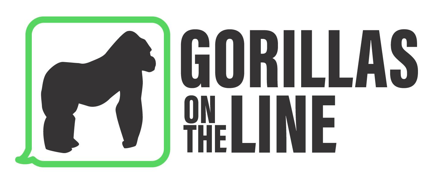 Gorillas on the Line logo
