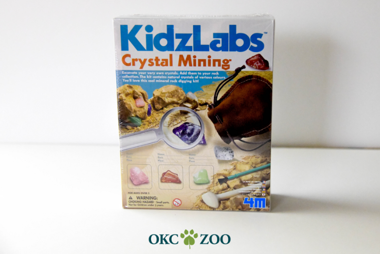 KidsLab Crystal Mining Kit