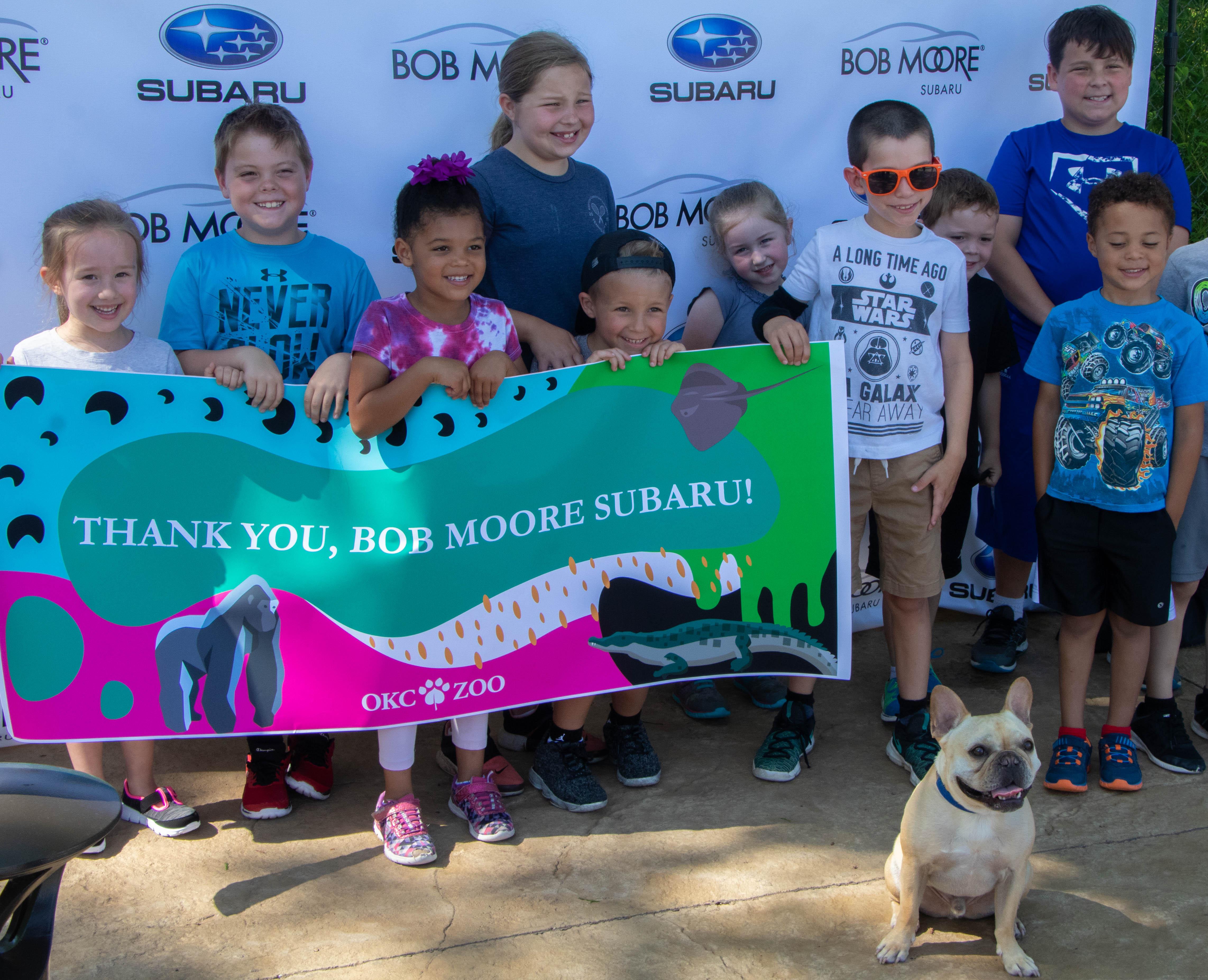 OKC ZooBob Moore Subaru Unveil ZOObarus