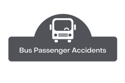 bus passenger accidents button