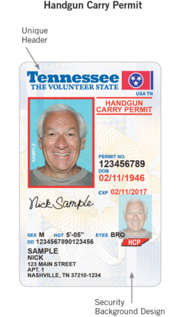 New Tennessee ID