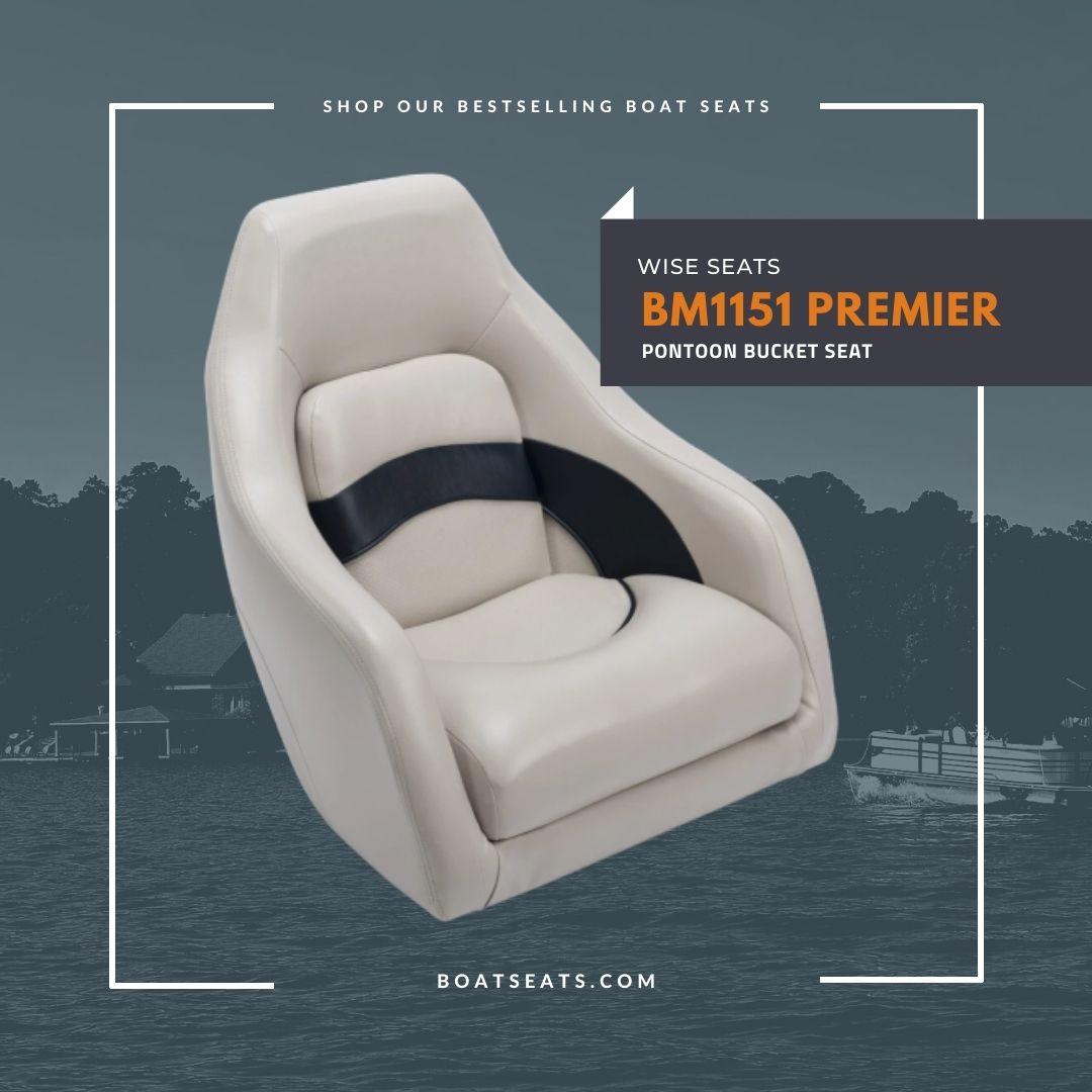 Beige Boat Seat