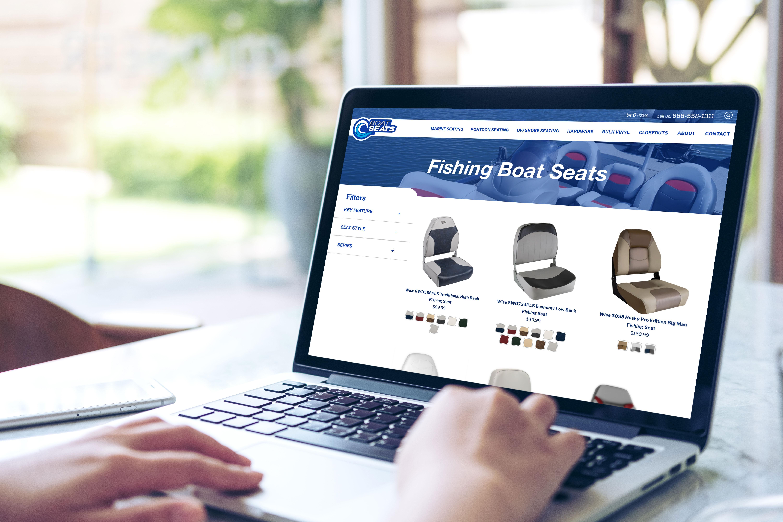 Boat Seats Website