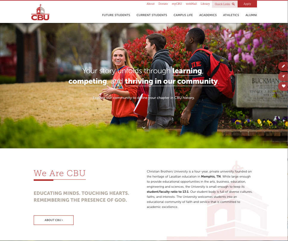 Christian Brothers University | Speak Creative