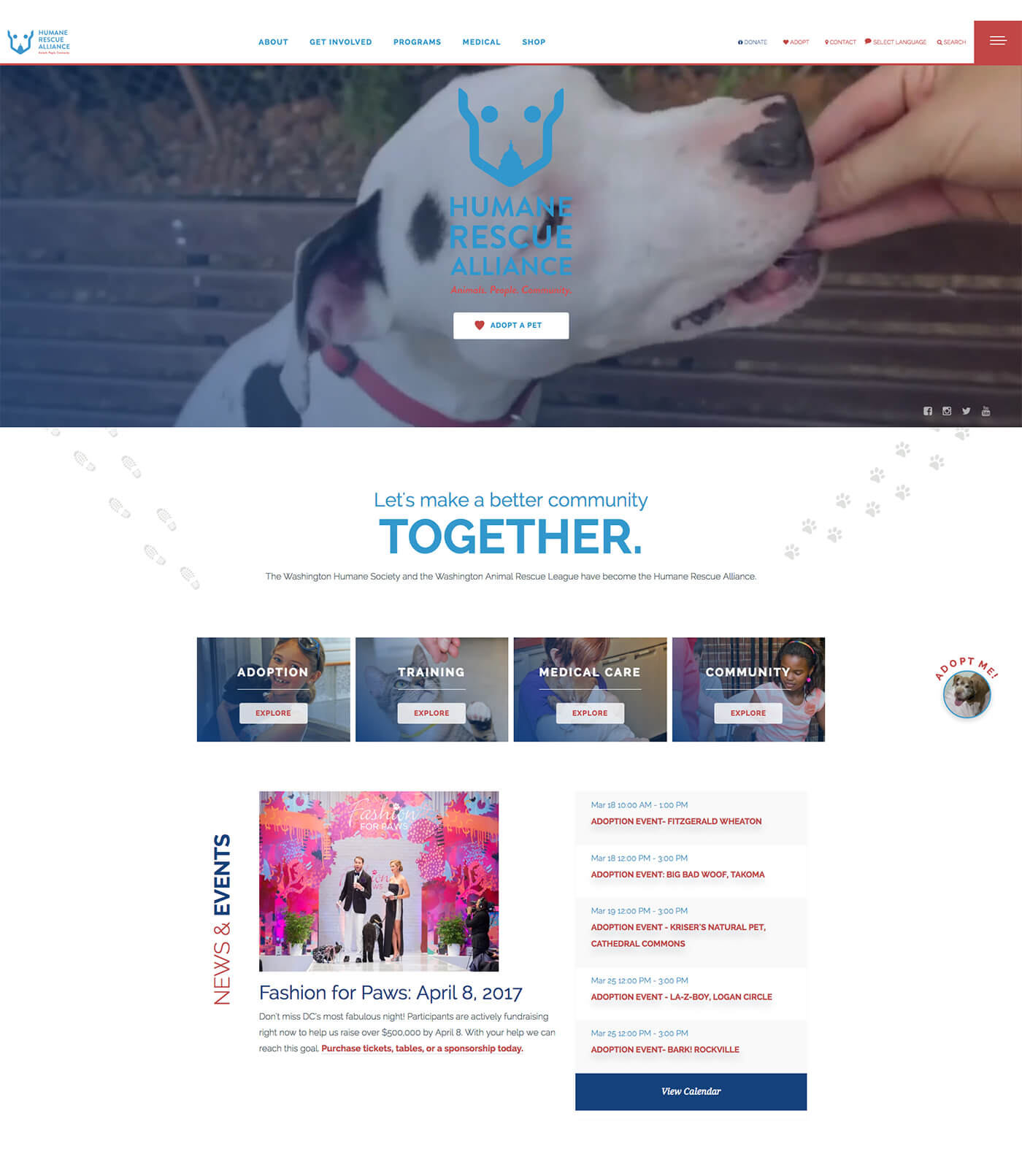 Humane Rescue Alliance - SiteWrench