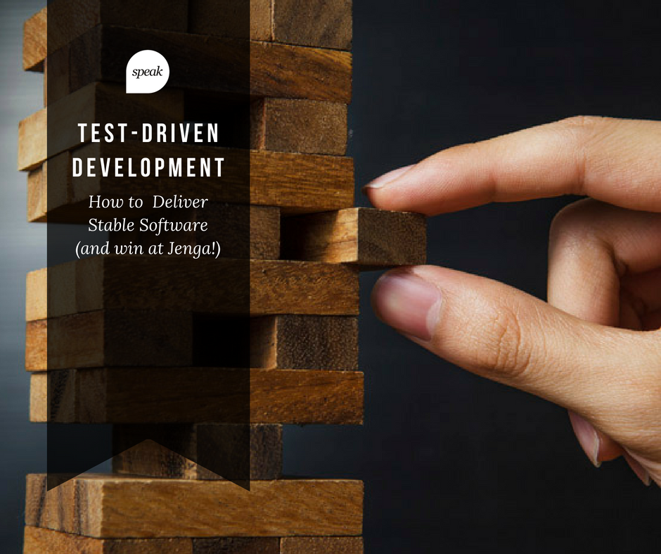 test driven development - custom development agency | Speak Creative