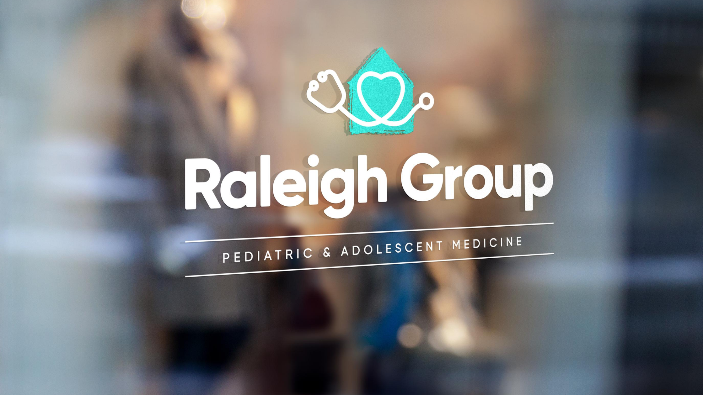 Raleigh Group branded window
