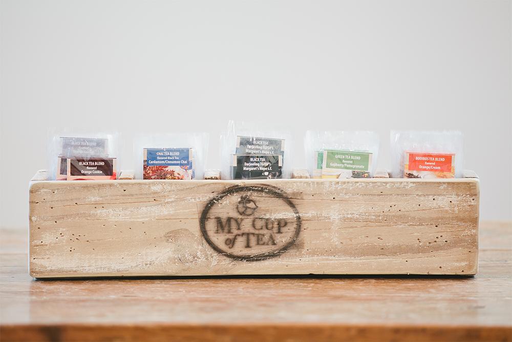 corporate tea sampler gift set