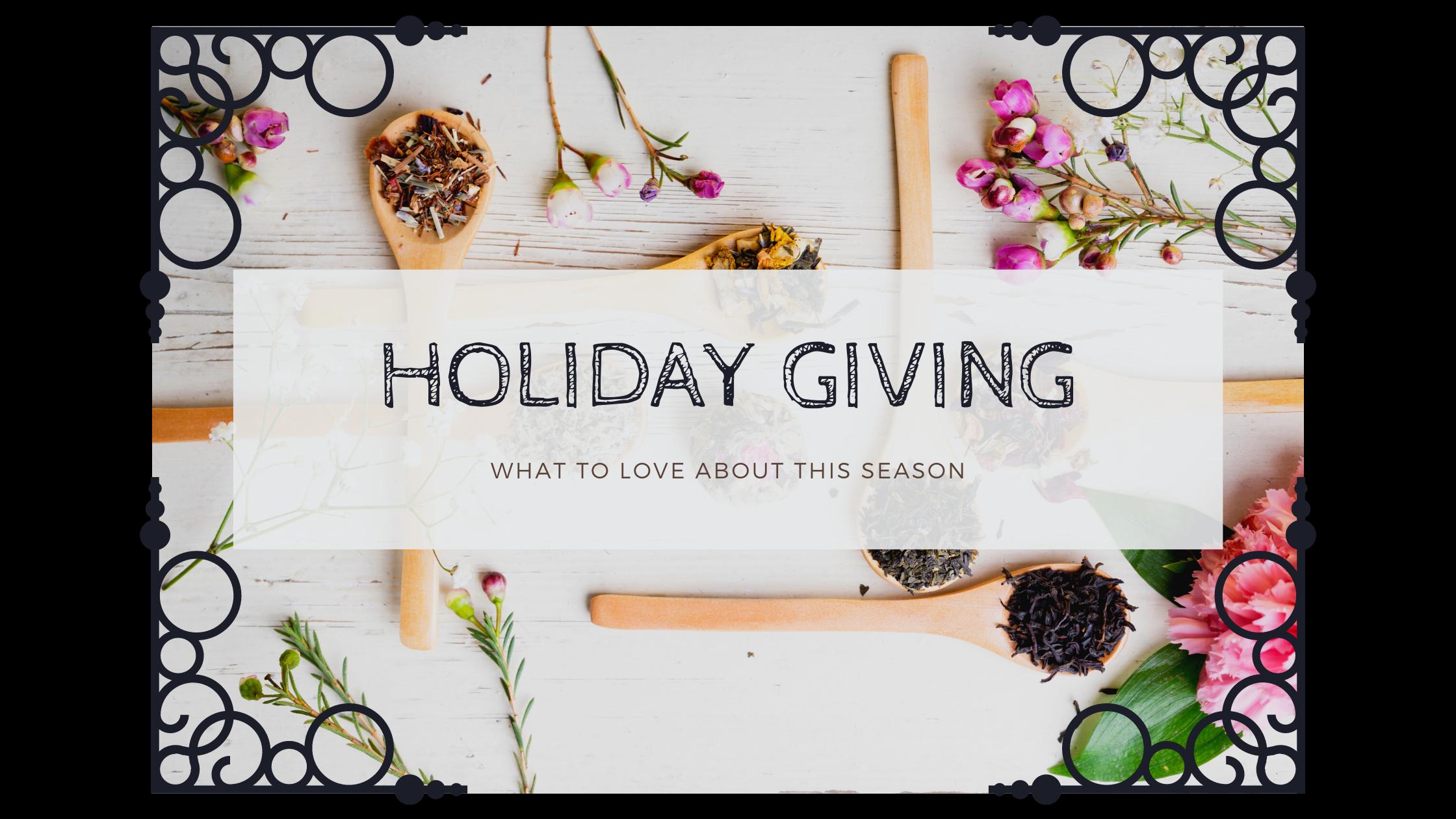 holiday tea gift ideas