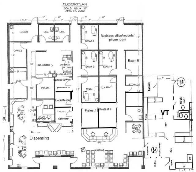 Optometrist Office Layout Plans