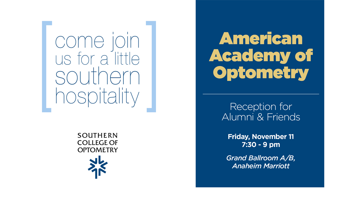American Academy of Optometry Reception for Alumni & Friends