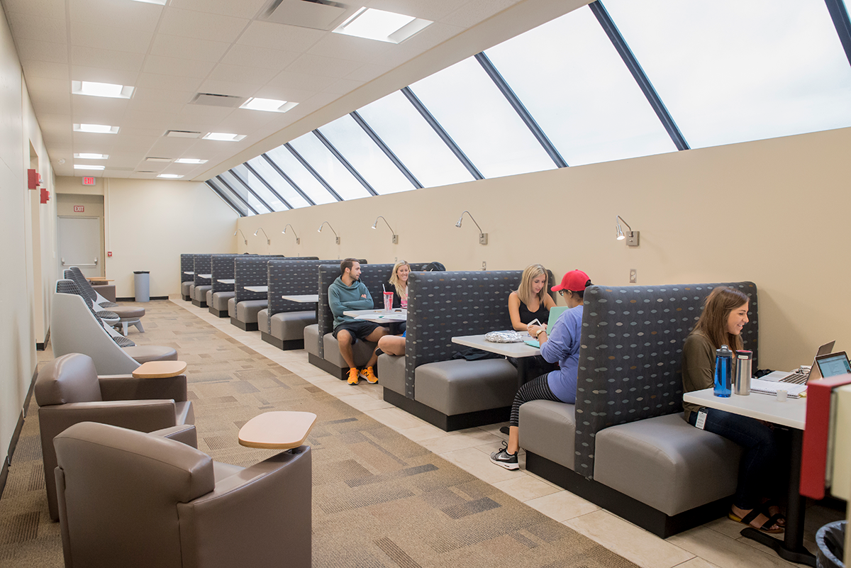 Study Area at Southern College of Optometry