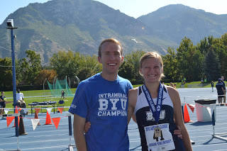 Jed and Andrea at BYU