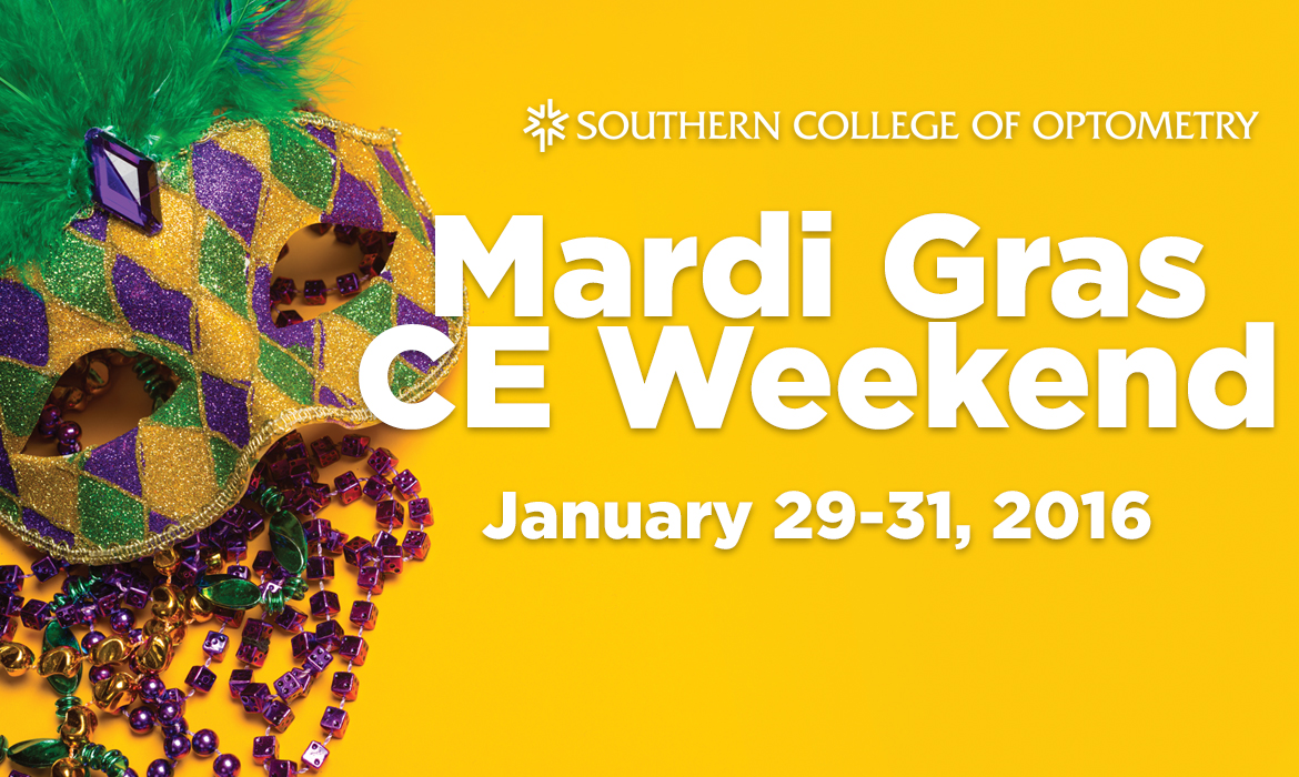Mardi Gras CE Weekend 2016