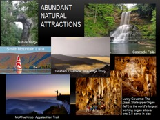 Abundant Natural Attractions