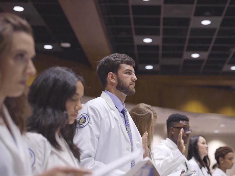 optometry students phoropter
