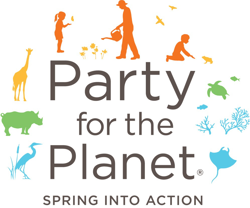Party for the Planet, Spring into Action Logo