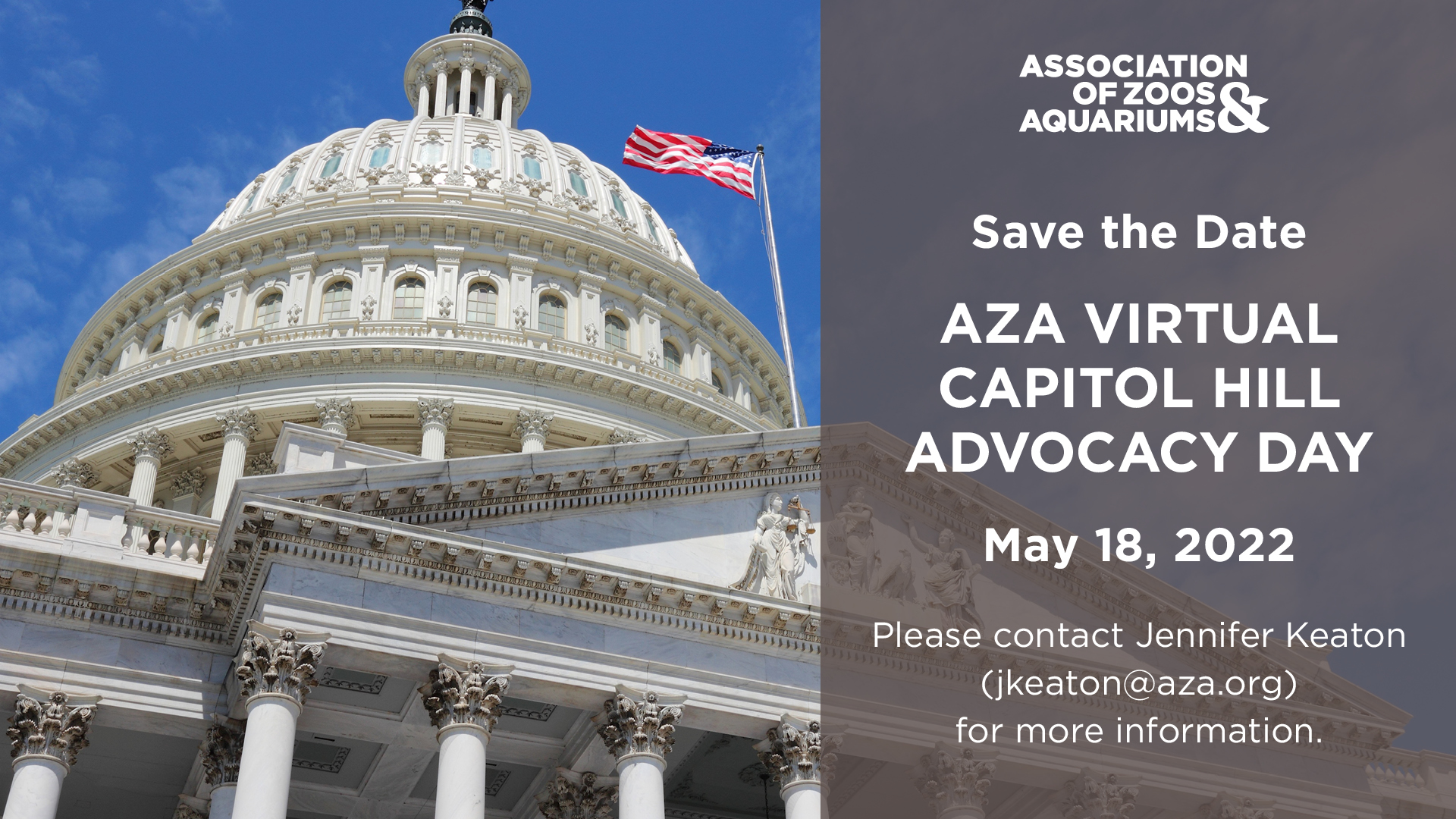 Save the Date: 4/14/2021 AZA Advocacy Day