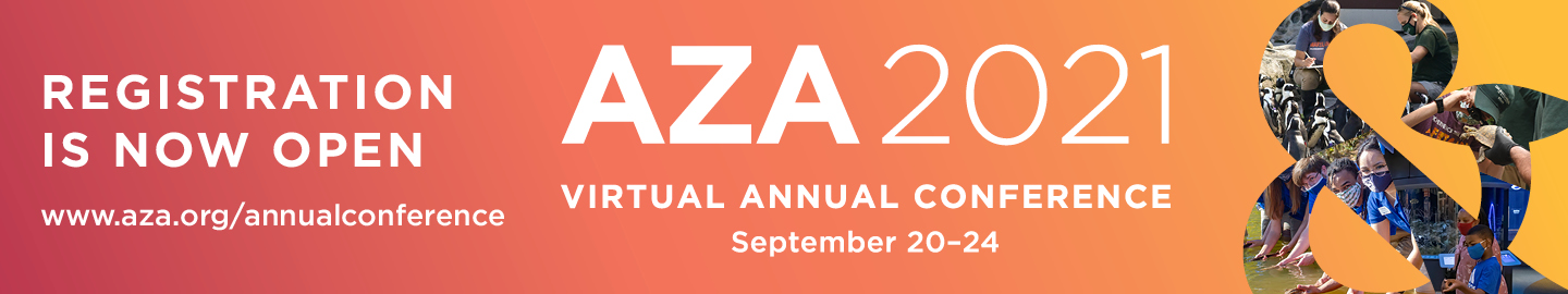 Register now for early bird rates at AZA's Virtual Annual Conference