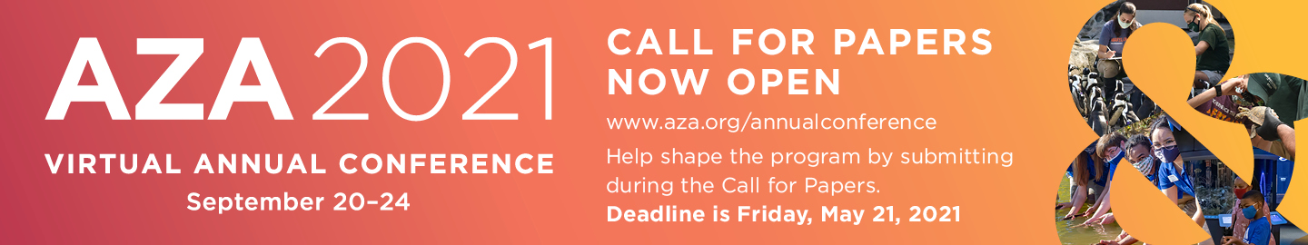 The AZA Annual 2021 Conference Call for Papers is open now through May 21.