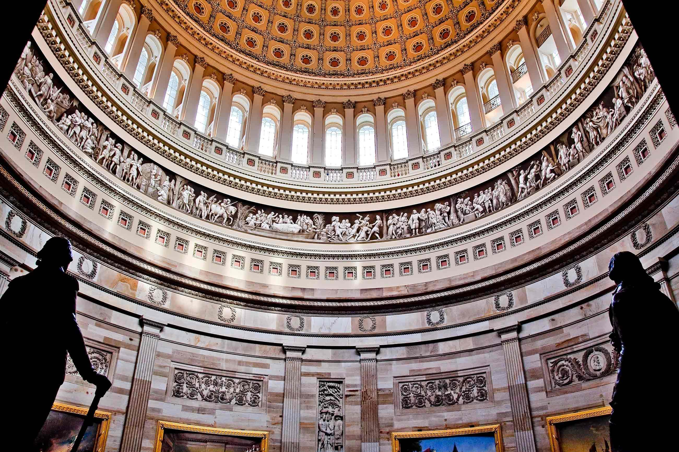 Inside the U.S. Capitol building
