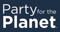 Image of logo with text Party for the Planet